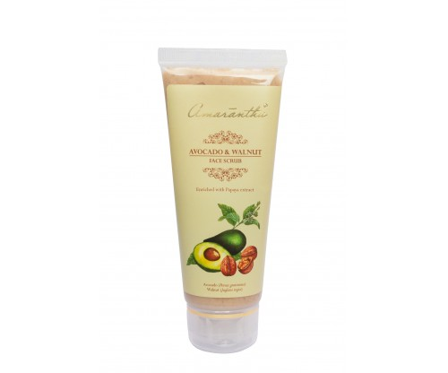 Amarantha Avocado & Walnut Face Scrub 10 g