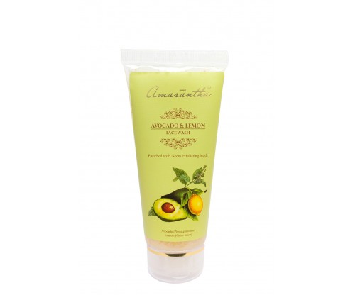 Amarantha Avocado & Lemon Face Wash